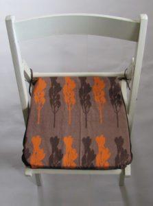 hand made seat pads