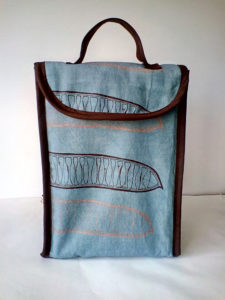 Hand made lunch bag