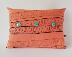 coral rectangular cushions